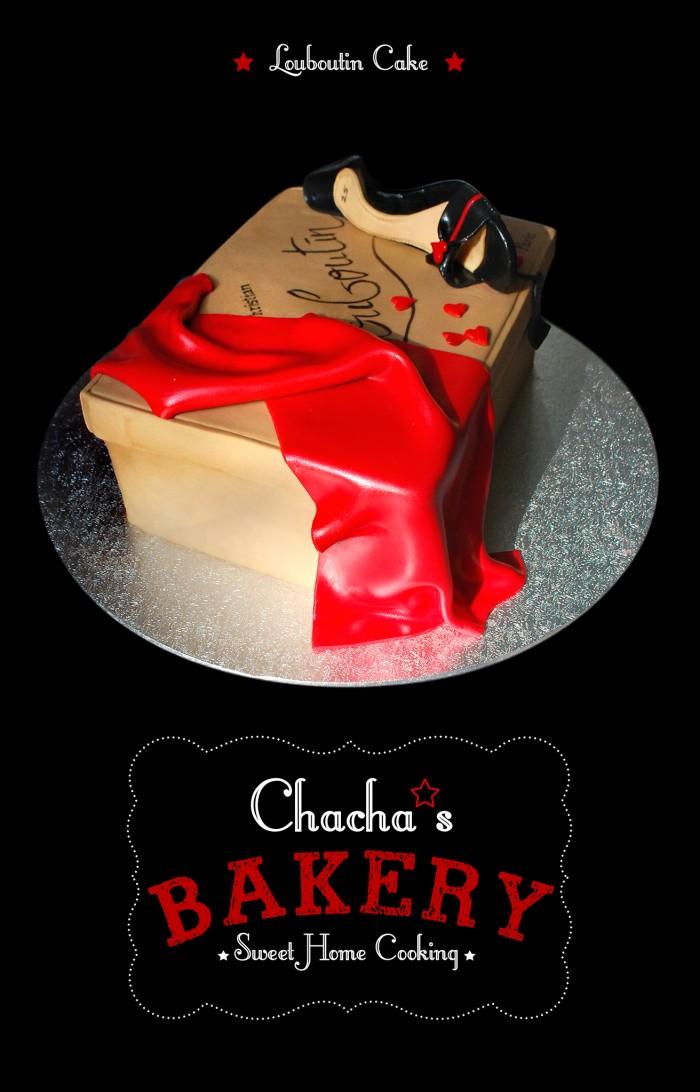 ★ Louboutin Cake ★