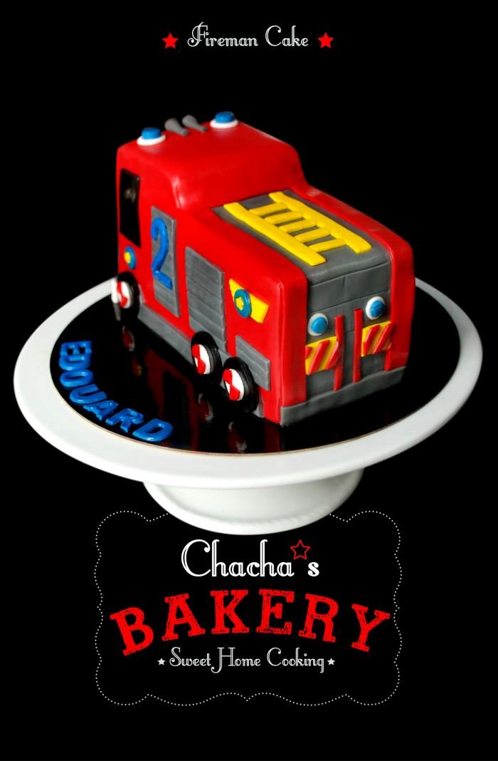 ★ Fireman's Cake ★